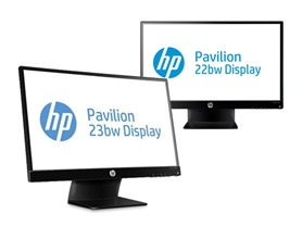 HP Pavilion Full-HD LED-backlit IPS Monitors
