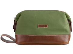 AVI-8 Canvas Wash Bag, Green