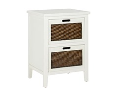 Jonah Night Table - White