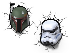 3D Star Wars Lights - 2 Styles