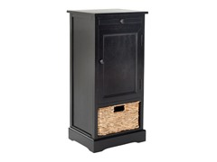 Raven Tall Storage Unit - Black