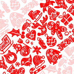 Candy Cane Doodles