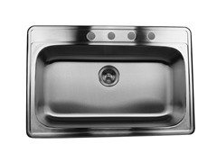 Nantucket Sinks 33-Inch Drop-In Sink