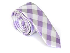 Skinny Tie Madness Riddle Me Purple Too