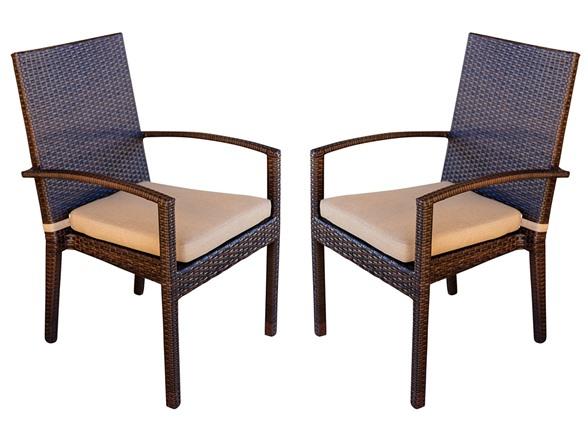Palmer Outdoor Dining Armchair Set HG106324A