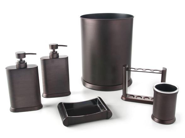 Arc Oil Rubbed Bronze 6 Piece Bath Set
