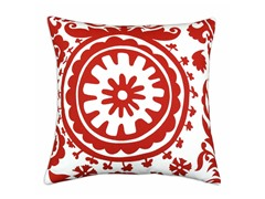 Suzani Lipstick 17x17 Pillow