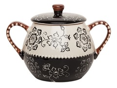 Napa Covered Soup Pot - Black