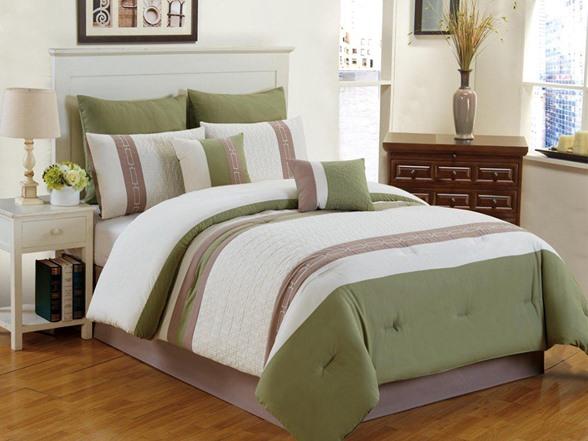 Calloway 8pc Comforter Set Cal King 4 Colors