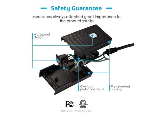 meross Smart Wi-Fi Waterproof Plug