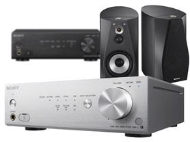 Sony High-Res Audio Speaker Systems