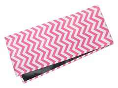 Chevron Table Runner-Pink
