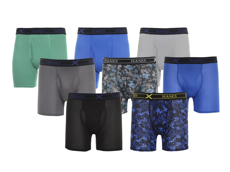 8-Pack Hanes X-Temp Performance Boxer Briefs