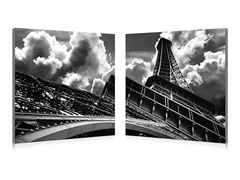 Touch the Clouds Diptych