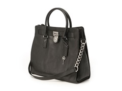 Michael Kors Hamilton Large Tote, Black