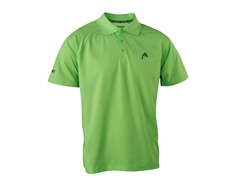 Net Performance Polo - Neon Green