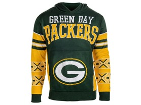 Green Bay Packers Youth Boys 8-20 Long Sleeve Hooded Sweatshirt