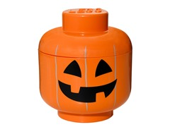 LEGO Pumpkin Storage Head