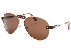 Chloe CL2104 Brown-Gold/Dark Brown