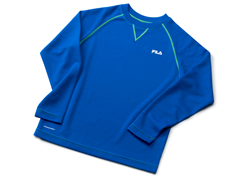 Royal Blue Thermal Top