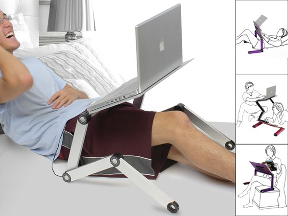 Folding & Adjustable - Multi Functional Laptop Table T8 ...