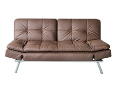 Abbyson Living Monroe Cappuccino Faux Leather