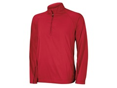 Climaproof Wind Half Zip Jacket - Red