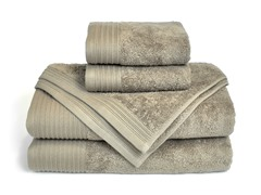 6-Piece Supima Cotton Towel Set-Sand