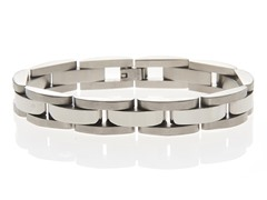 Stainless Steel Semi Circle Bracelet