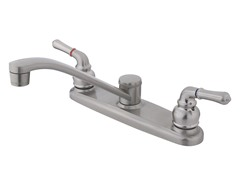 Kitchen Faucet, Nickel