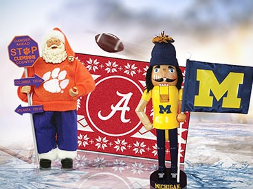 NCAA Holiday Decor