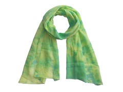 Tie Dye Wrap Green & Yellow