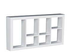 "Taylor 24"" Display Shelf White"
