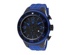 Men's Neptune Chronograph, Black / Dark Blue