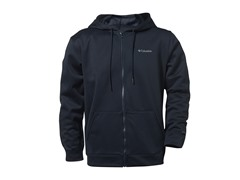 Dark Navy Full Zip w/ Columbia Logo