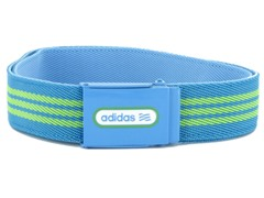 adidas Reversible Belt, Green/Blue