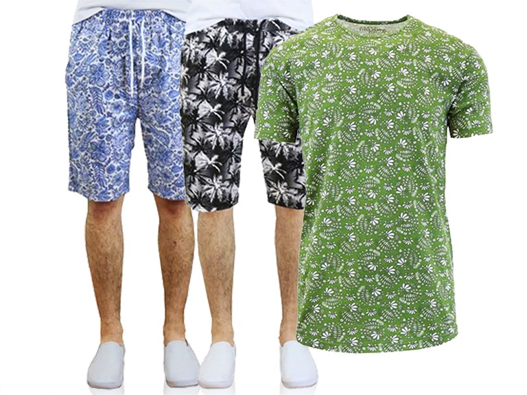 GBH Men's Printed Shorts and Tees