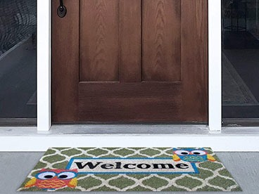 Welcome Mats to Welcome Folks