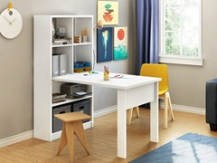 Annexe Work Table & Storage  (2 Colors)