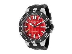 Challenger Watch, Red / Black