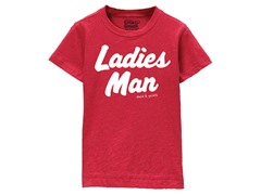 Boys Toddler Tee - Ladies Man (3T-5/6T)