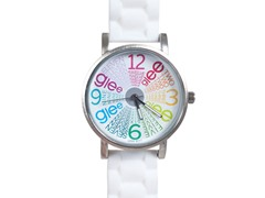 Starburst Logo Watch - White Band