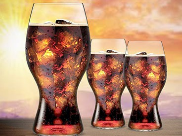 Riedel Coca Cola Glasses