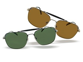 Tommy Bahama Polarized Unisex Aviators - 2 Colors