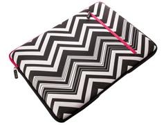 "15.4"" Neoprene Laptop Sleeve - Zebra with Pink"