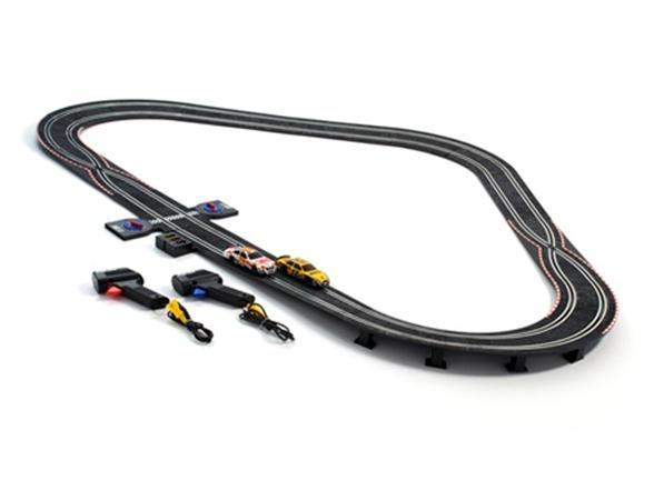 Scx Nascar Superspeedway Slot Car Racing Set