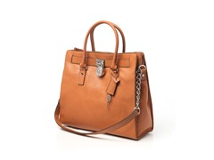 Michael Kors Hamilton Large Tote, Brown