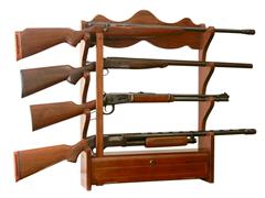 4-Gun Wall Rack