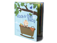 Rock-a-bye-Baby Record-A-Story Book
