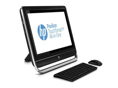 "HP 23"" Full-HD Touch Quad-Core Desktop"